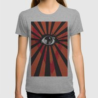 Vendetta Alternative movie poster Womens Fitted Tee Athletic Grey SMALL