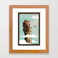 Bird Keeper Framed Art Print