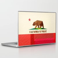 christmas Laptop & iPad Skins featuring California by Fimbis