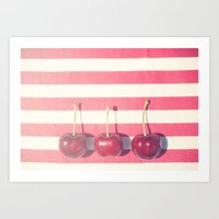 Cherries Art Print