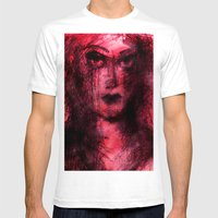 Muse Mens Fitted Tee White SMALL