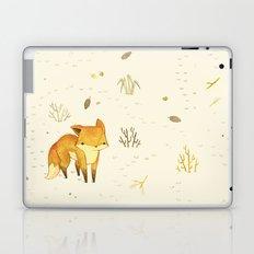 Lonely Winter Fox Laptop & iPad Skin