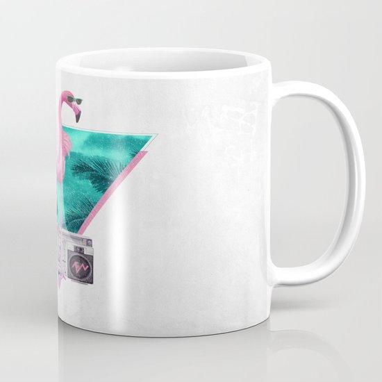 Miami Flamingo Mug