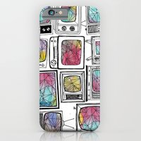 iPhone & iPod Case featuring colour tv by suzy