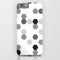 iPhone & iPod Case featuring Graphic_Cells by Anna Rosa