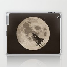 Around the Moon Laptop & iPad Skin