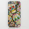 Sugar Skull Collage iPhone & iPod Case