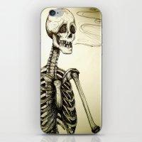 Let it slip iPhone & iPod Skin