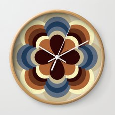 A kind of flower Wall Clock