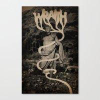 WRAITH - Swathe Canvas Print