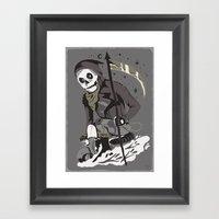 Mobile Death Squad Framed Art Print
