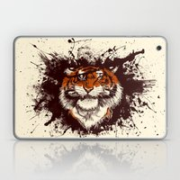 TigARRGH (Maroon and Orange) Laptop & iPad Skin