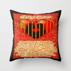 LOVE MY PERFECT PRISON  - 020 Throw Pillow