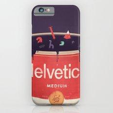 Helveti-soup iPhone 6 Slim Case