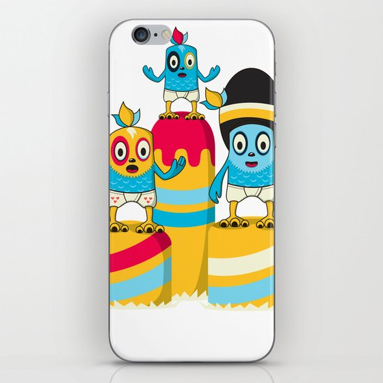 We are family iPhone & iPod Skin