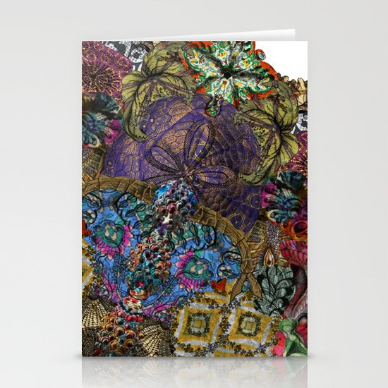 Psychedelic Botanical 8 Stationery Card