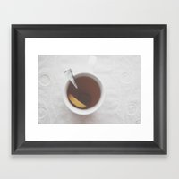 Afternoon Tea  Framed Art Print