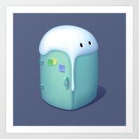 Refrigerator Art Print