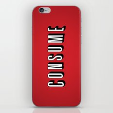 Consume iPhone & iPod Skin