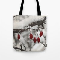 Finding Red Tote Bag