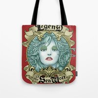 Legend Of The Sea Wolf Tote Bag
