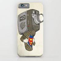 iPhone & iPod Case featuring Super8 by paddyroo