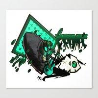 HUMAN FLY 2 Canvas Print