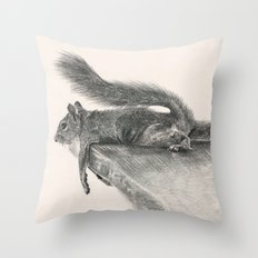 Monday Mood Throw Pillow