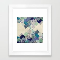 Leaf it to me Framed Art Print
