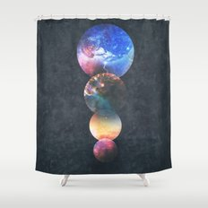 Echoes Shower Curtain