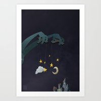 The Night Puppeteer Art Print