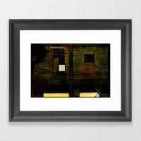 Deserted House Framed Art Print