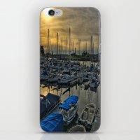 Sunset in Shoreline iPhone & iPod Skin