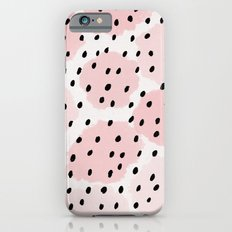 Pink Dots Pattern iPhone 6 Slim Case