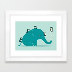 Waterslide Framed Art Print