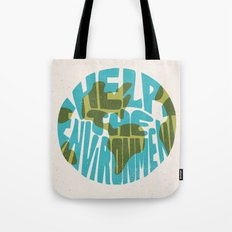 Help The Environment Tote Bag