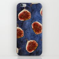 Fig Pattern #society6 #d… iPhone & iPod Skin