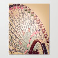 Biggest Wheel In Texas Canvas Print
