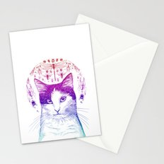 Of cats and insects Stationery Cards