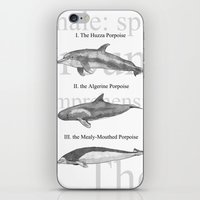 III. The Duodecimo Whale iPhone & iPod Skin