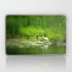 Marsh Egret 2 Laptop & iPad Skin