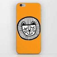 HAPPY LION iPhone & iPod Skin