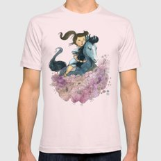 Blue Horse Year 2014 Mens Fitted Tee Light Pink SMALL