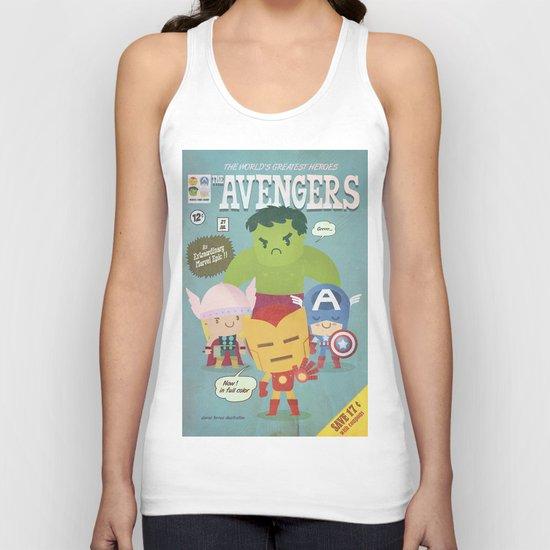 avengers fan art Unisex Tank Top