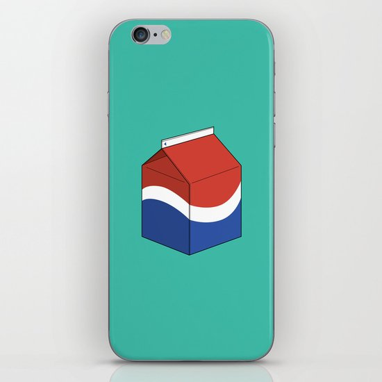 Pepsi in a box iPhone & iPod Skin