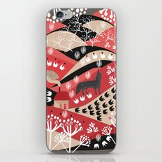 Wolf's Promise Land iPhone & iPod Skin
