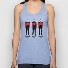 Stages of Riker Unisex Tank Top