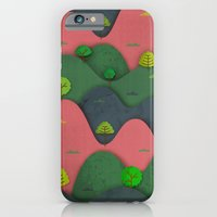 iPhone & iPod Case featuring Hills are alive by Teja Ideja