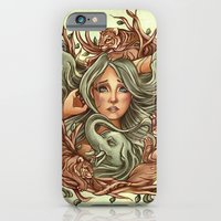 elephants iPhone & iPod Cases featuring Elephants by Heather Hitchman