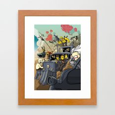 Road Warriors Framed Art Print